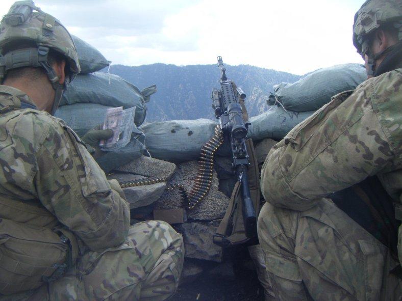 Machine Gun position - Strong Eagle III